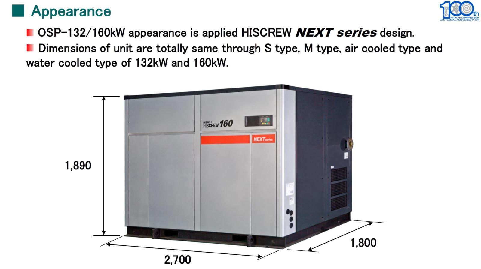 Máy nén khí Hitachi chịu nhiệt độ cao