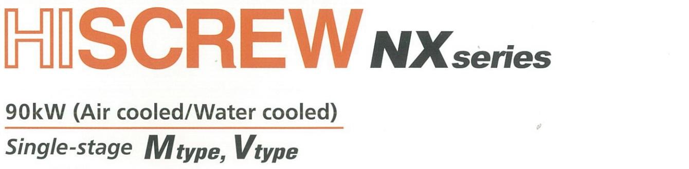 Máy nén khí Hitachi 90kW NX series