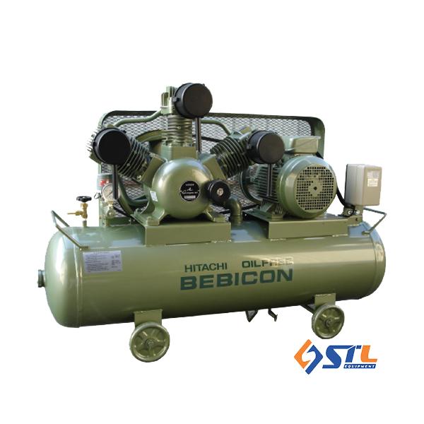 Máy nén khí piston không dầu Hitachi 10HP – 250L