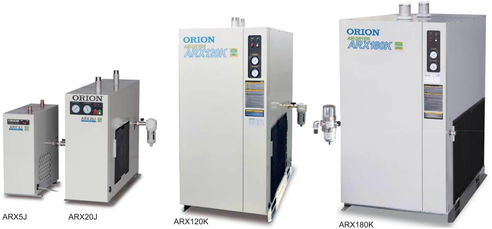 Máy sấy khí Orion thực tế