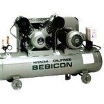 Máy nén khí piston thích hợp đặt trong các cửa hàng xe, sửa chữa
