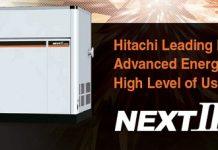 Hitachi là một trong những thương hiệu nổi tiếng của máy nén khí