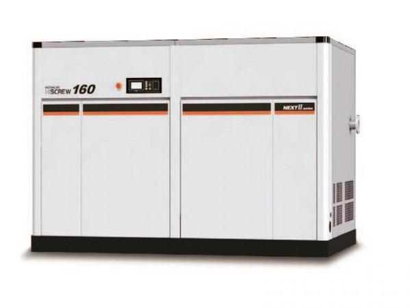 Máy nén khí không dầu Hitachi làm tăng áp suất chất khí