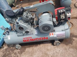 Máy nén khí piston Hitachi bebicon