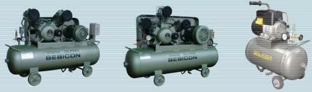 Máy nén khí piston không dầu Hitachi