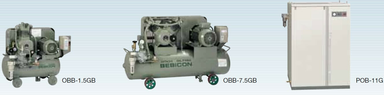 Máy nén khí piston tăng áp Hitachi
