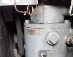 Mức dầu máy nén khí Hitachi